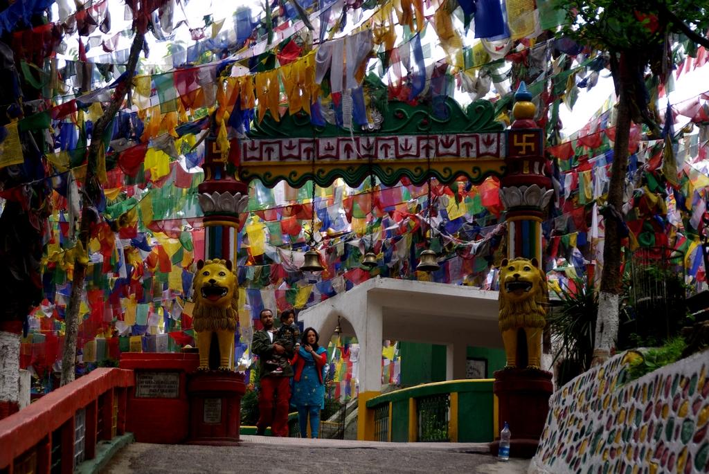 Temple boudhique - Darjeeling