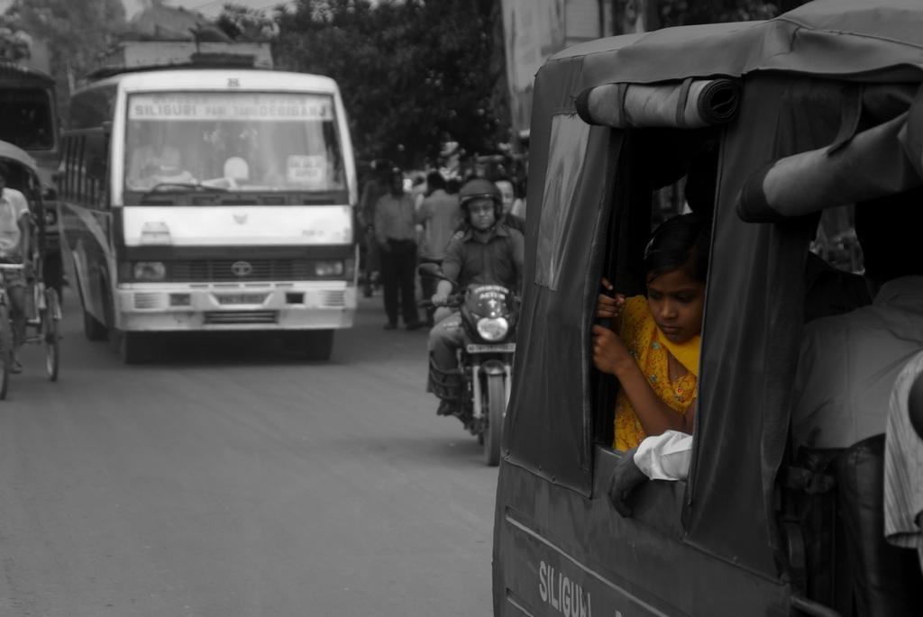 En direction de Calcutta, Inde