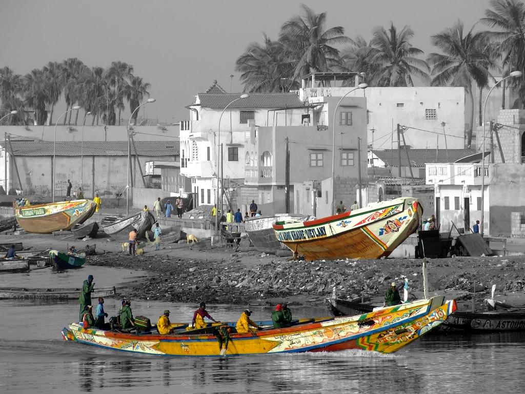 De retour de la pêche, Sénégal