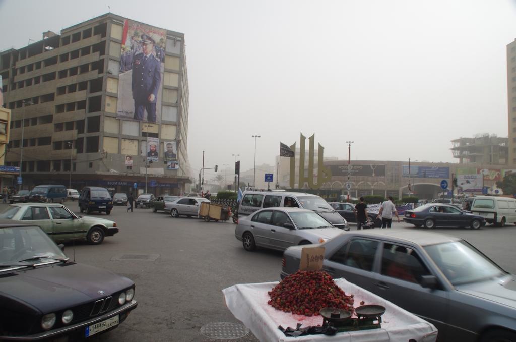 Ambiance particulière à Tripoli. Il n'y a pas de touriste ici