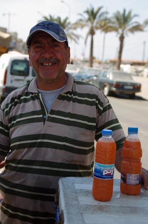 Vendeur de jus d'orange