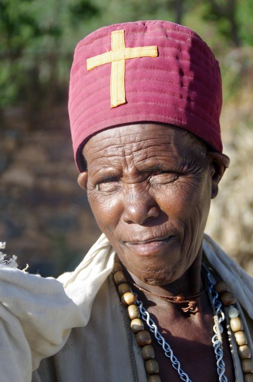 Religieuse à Aksum