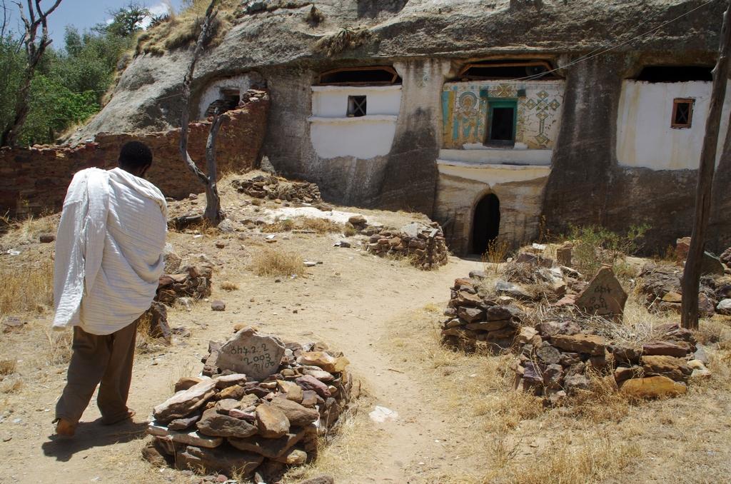 Certaines églises ont été creusées dans la roche