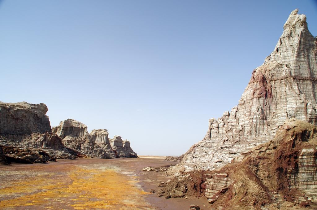 Outre Dallol, il y a divers paysages exceptionnels dans le Danakil