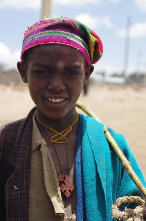 Portrait d'Amhara