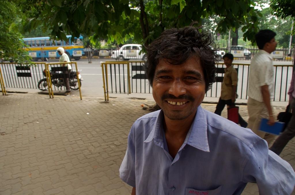 Salil, bloqué à Calcutta