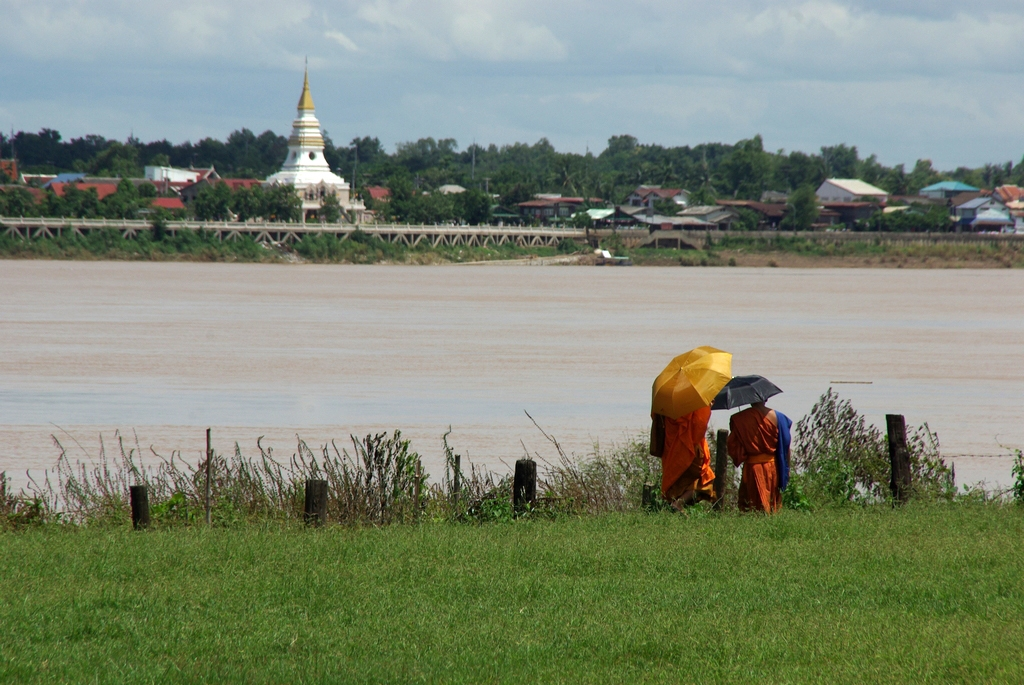 Moines, Buddha park, Laos