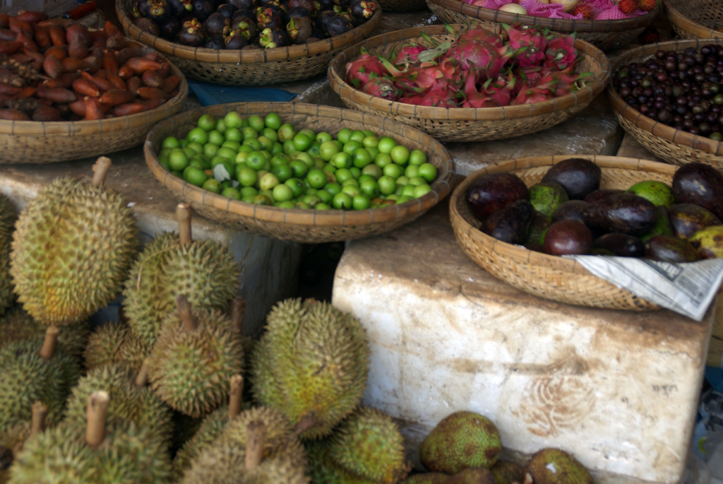 Fruits et légumes cambodgiens