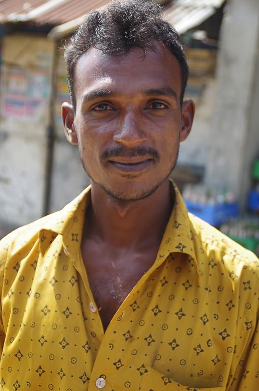 Ouvrier des chantiers de destruction de navire - Chittagong