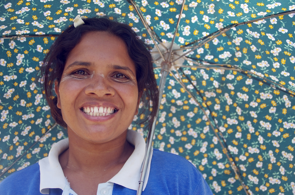 Les parapluies sont aussi utilisés pour se protéger du soleil
