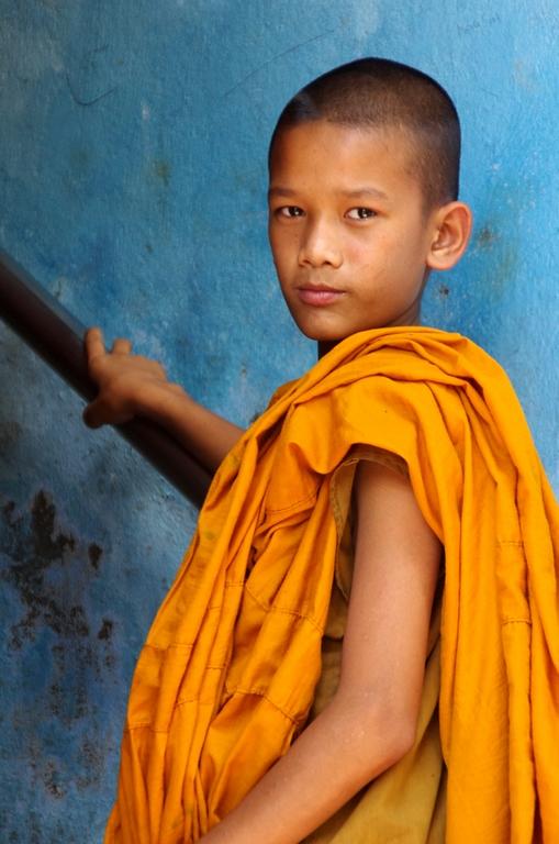 Moine boudhiste - Népal
