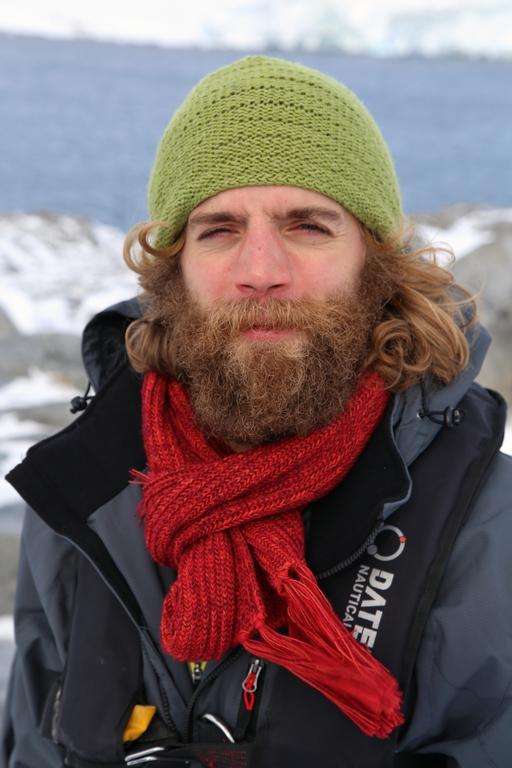 Portrait de voyageur - Antarctique