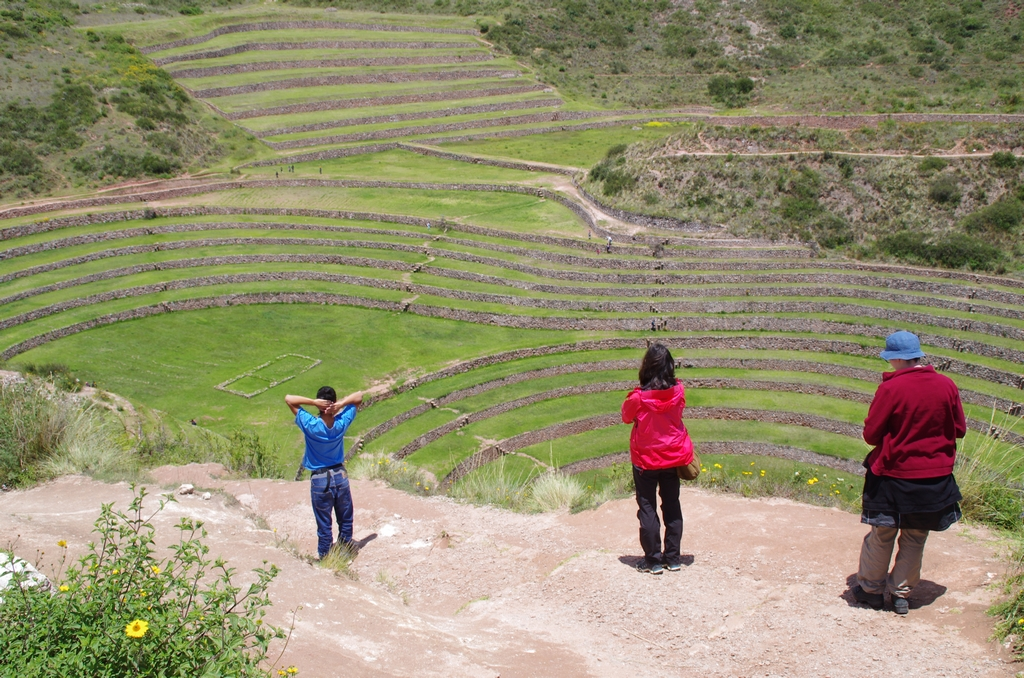 Site de Moray, un laboratoire agricole inca - Pérou