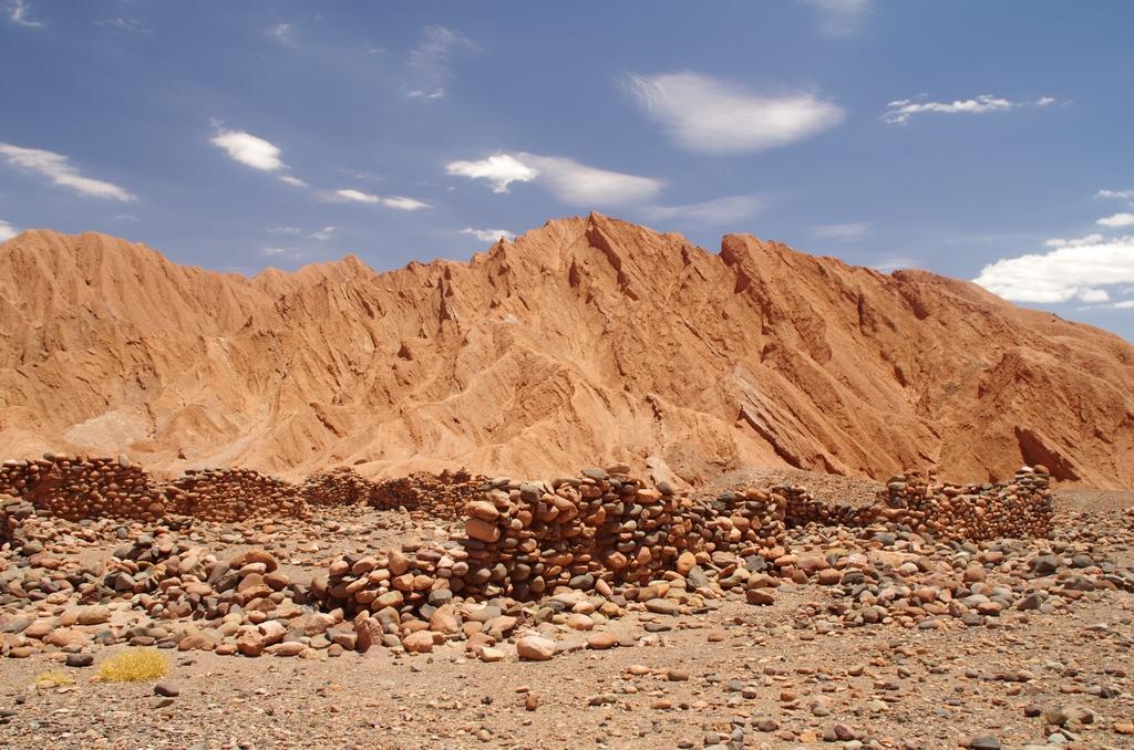 Ruines inca - Environs de San Pedro de Atacama, Chili