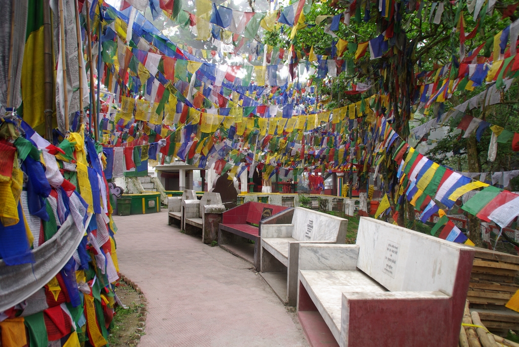 Temple boudhiste - Inde