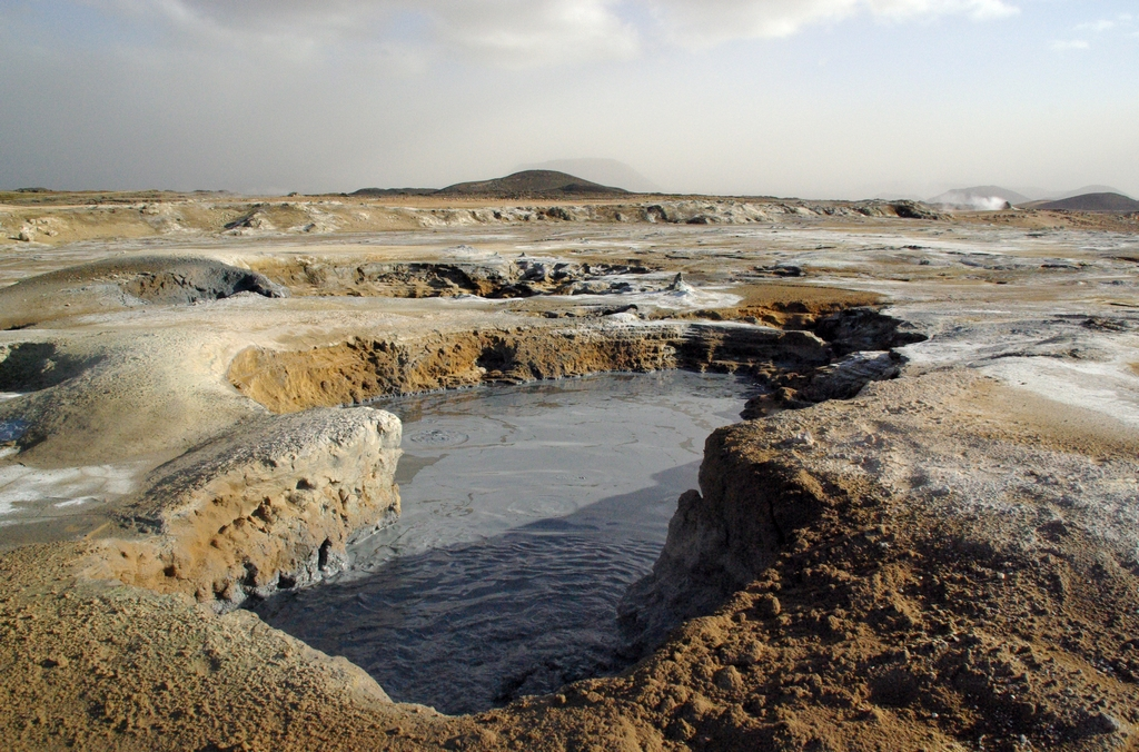 Source de souffre - Islande