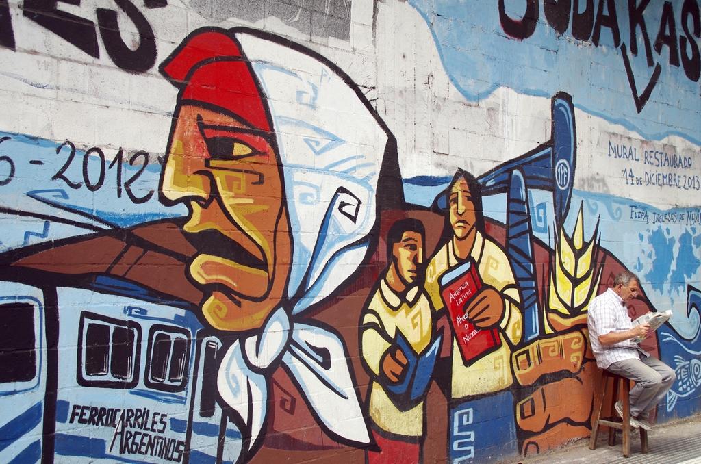 Les murs sont vecteurs d'expression - Buenos Aires, Argentine