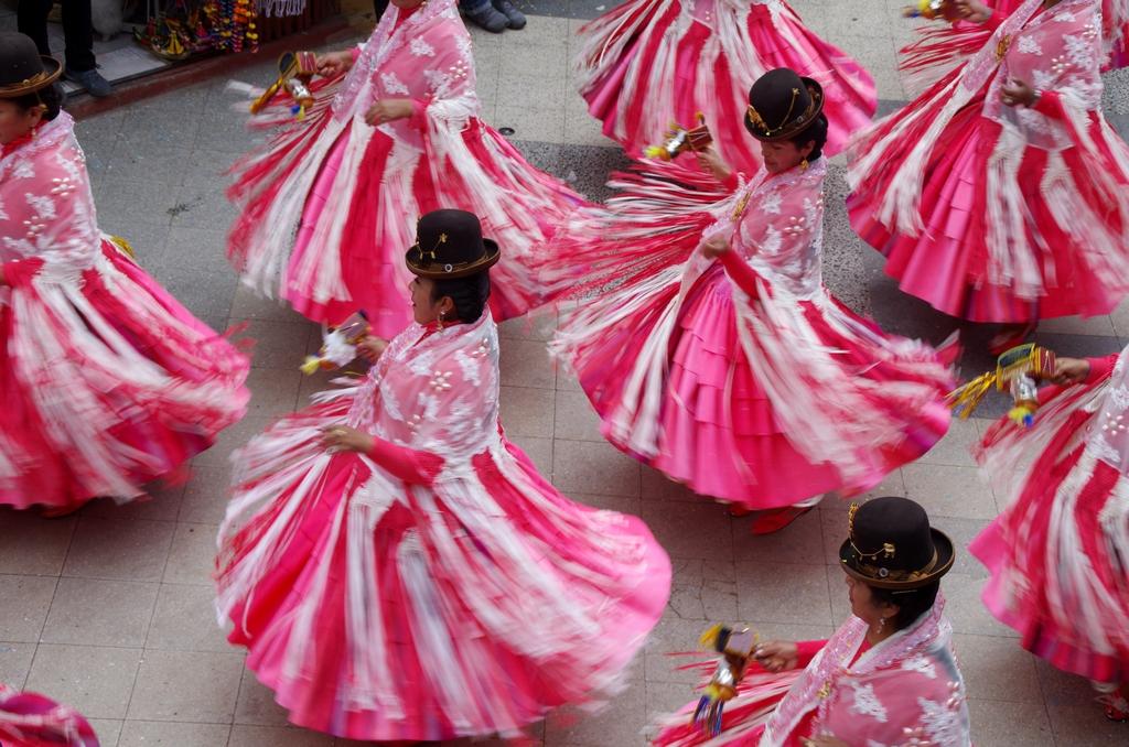 Fête catholique - Puno, Pérou