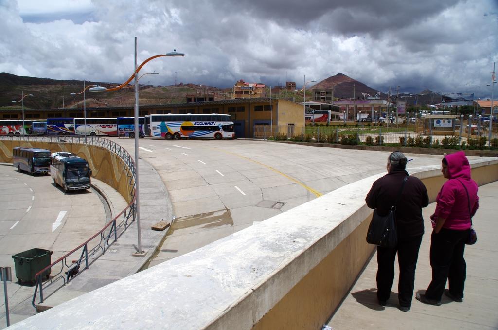 Gare de bus - Bolivie