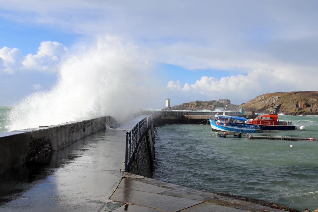 Tempête hivernale - Conquet, Bretagne