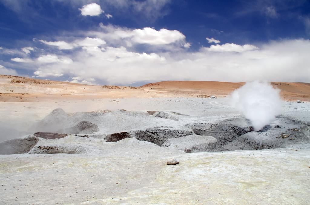 Source chaude - Bolivie