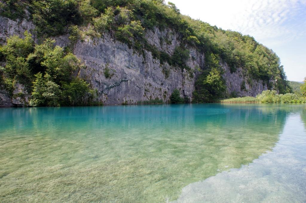 Eaux turquoises de Plitvice - Croatie