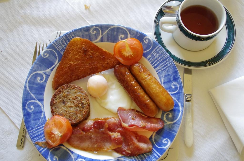 Les petits déjeuners en Ecosse sont souvent très caloriques