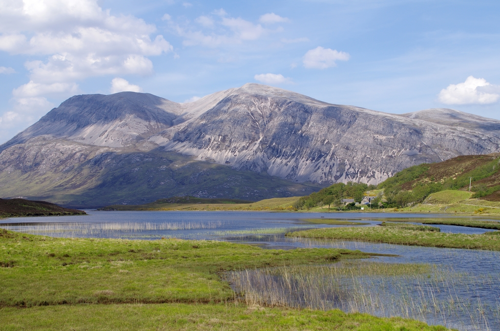 Highlands, sur la route d'Inverness - Ecosse