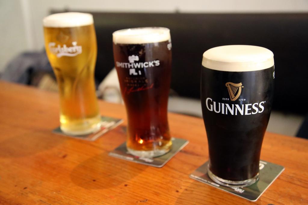 Les irlandais brassent toutes les couleurs de bière. A chacun sa favorite - Irlande
