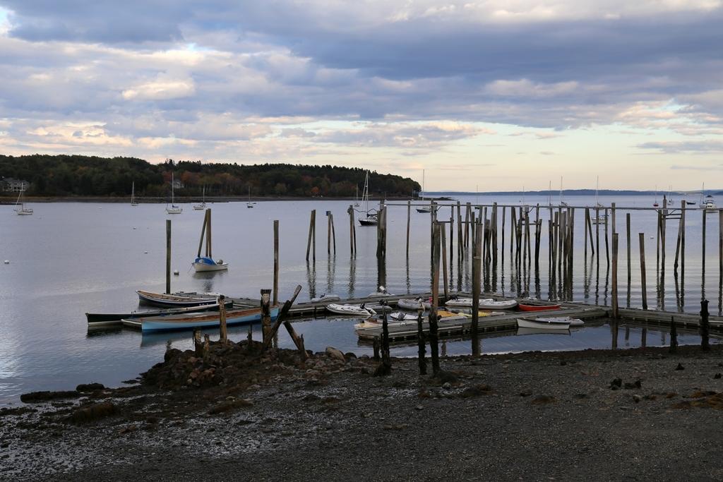 La côte du Maine ressemble assez à celle de la Bretagne - USA