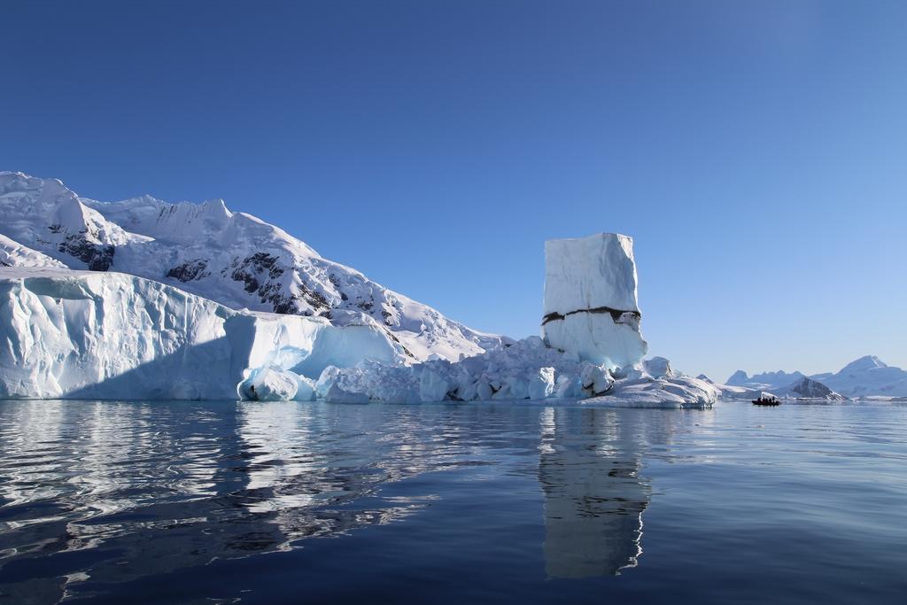 Au niveau du cercle polaire Antarctique