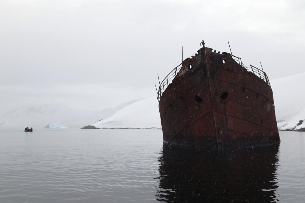 Epaves, de l'époque des baleiniers