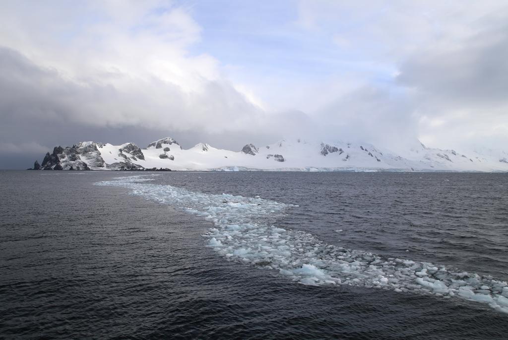Pont de glace, Shetland