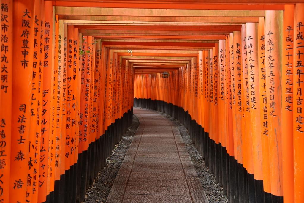 Sanctuaire d'Inarrii - Kyoto