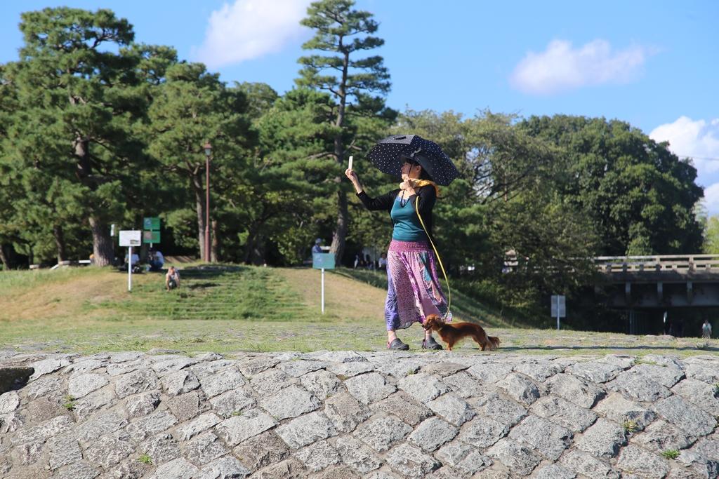 Le sport national au Japon: se prendre en selfie - Kyoto